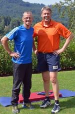 Personal Trainer Trainer Michael Kutzner mit einem Kunden aus Baden-Baden